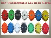 Non-rechargeable LED Road Flares