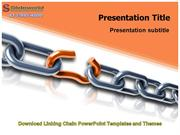 Download Linking Chain PowerPoint Templates and Themes