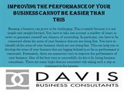 Improving the Performance of Your Business Cannot Be Easier Than This