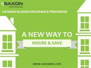 How to obtain smart, flexible and affordable insurance in Cayman