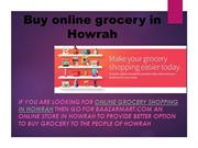 Buy an online grocery in Howrah