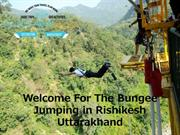 Adventures Activity Of Bungee Jumping in Rishikesh