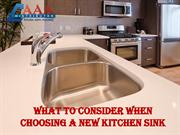 What to consider when choosing a new kitchen Sink