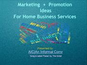 Marketing + Promotion Ideas for Service Business