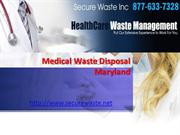 medical waste disposal Maryland