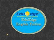 EduEdge English tuition centre Singapore :http://eduedge-tuition.com/