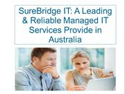 SureBridge IT A Leading & Reliable Managed IT Services Provide in Aust