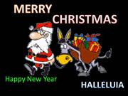 Greeting Christmas in multi-language