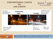 Conventional Lights Vs. LED Lights