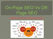 On Page Vs. Off Page – Market Startegy and Webplanners
