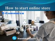 How to start online store