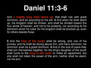King of North SW Prophecy Day 2016 final slides