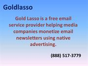 Email Monetization and Native Advertising | Gold Lasso