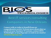 Best IT services consulting Companies in New Orleans