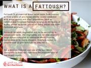 What is a Fattoush-