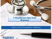 Rxpress Healthcare Tips | Home Physiotherapy Bangalore