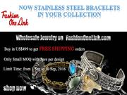 Now Stainless Steel Bracelets in Your Collection
