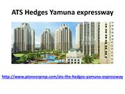 ATS Hedges Yamuna expressway has Good Design