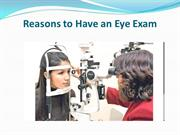 Reasons to Have an Eye Exam
