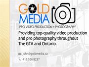 Gold Media Industrial Photography Toronto