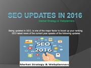 SEO Updates 2016 – Best SEO Company in Melbourne
