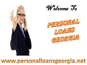 Personal Loans Georgia- Get Payday Cash Loans Help To End Cash Crisis