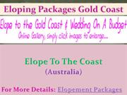 Eloping Packages Gold Coast - Elope to the coast