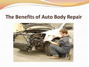 The Benefits of Auto Body Repair