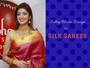 25 Latest Sexy And Sultry Blouse Designs For Silk Sarees