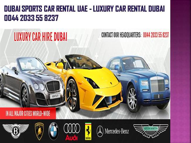 Dubai Sports Car Rental Authorstream