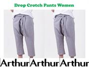 Drop Crotch Pants Women
