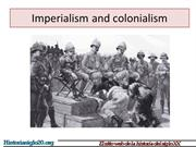Imperialism Causes and Motivations 19th century