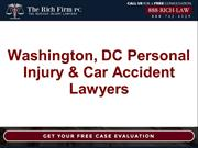 Washington, DC Personal Injury & Car Accident Lawyers