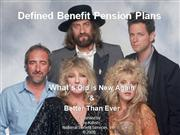 Defined Benefit Plans