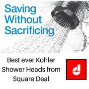 Bestever Kohler Shower Heads from Square Deal