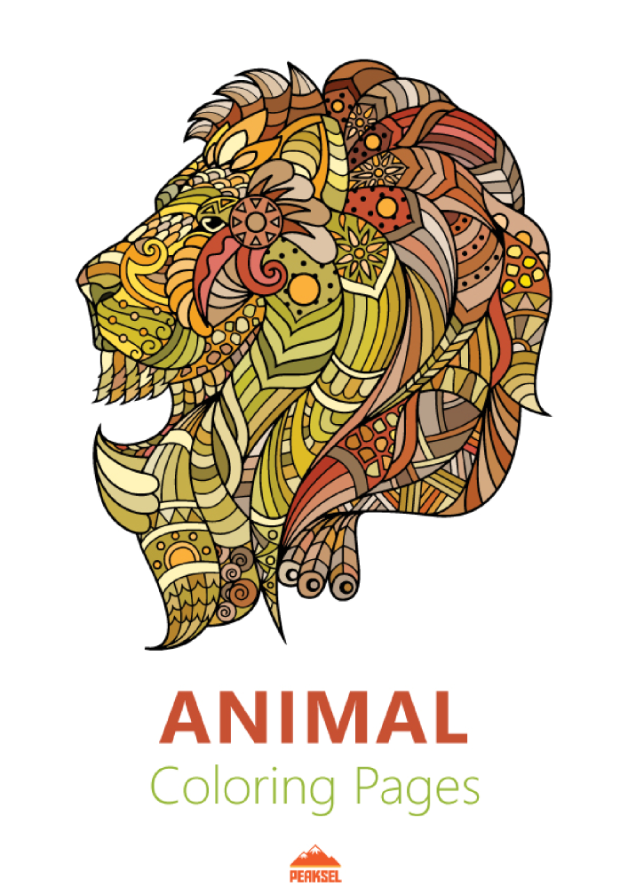 coloring book animals pdf animal coloring pages pdf authorstream