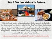 Top 5 Seafood Joints In Sydney by Aussie Trip Advisor