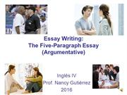 Argumentative Essay 1 CORRUPTION Theory and Assignment