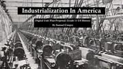 Industrialization unit presentation