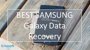 Samsung Galaxy Data Recovery-- Retrieve Lost Files from Samsung