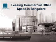 Leasing Commercial Office Space in Bangalore