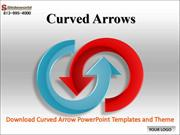 Download Curved Arrow PowerPoint Templates and Theme