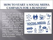 How To Start A Social Media Campaign For A Business