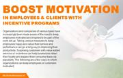 Simple ways to increase motivation using incentive programs