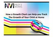 How a Growth Chart Can Help You Track the Growth of Your Child at Home