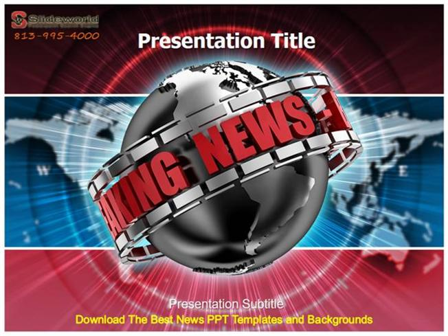 download the best news ppt templates and backgrounds |authorstream, Modern powerpoint
