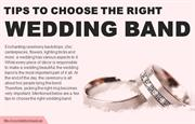 How to choose the perfect wedding band for a couple