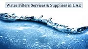 Water Purifier & Filters Suppliers in UAE