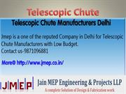 Telescopic Chute Manufacturers Delhi