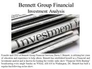 Bennett Group Financial- Investment Analysis